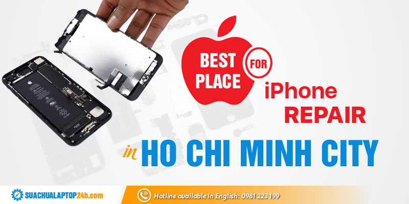 Best place for iPhone repair in Ho Chi Minh City