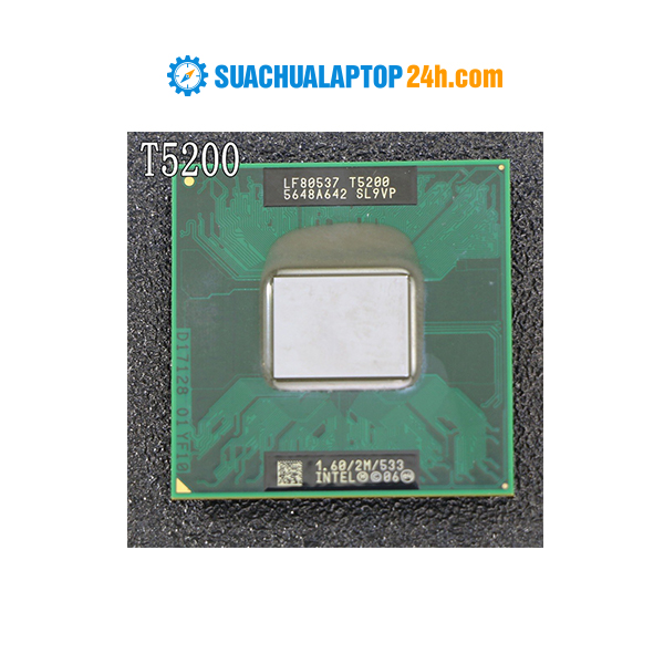 Chíp Intel Core 2 Duo T5200 (2M Cache, 1.60 GHz, 533 MHz FSB)