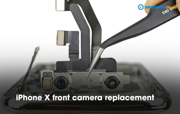 iPhone X front camera replacement