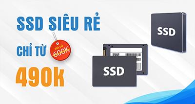Ổ cứng SSD siêu rẻ