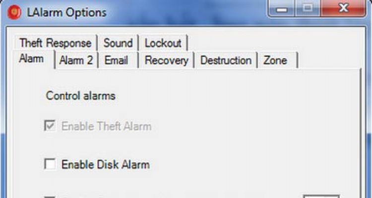 Phần mềm cảnh báo chống mất cắp laptop và báo động gần hết pin laptop