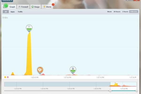 Glasswire - Kiểm soát đến từng Megabyte dữ liệu mạng
