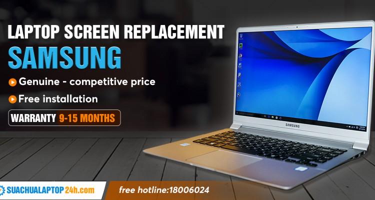 SAMSUNG LCD SCREEN REPLACEMENT AT LAPTOP REPAIR 24H, CALL 18006024