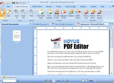 Phần mềm Novus PDF giúp chỉnh sửa file PDF dễ dàng