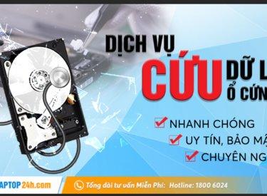 Cứu dữ liệu ổ cứng Hà Nội tuyệt đối bảo mật, nhanh chóng chỉ có tại Sửa chữa Laptop 24h.com