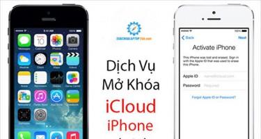 Làm sao khi bị khóa iCloud và cách mở khóa iCloud iPhone 5, 6