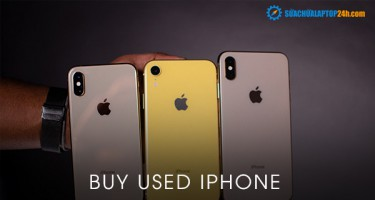 Buy used iPhone at SUACHUALAPTOP24h.com