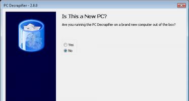 Loại bỏ các chương trình dùng thử với PC Decrapifier