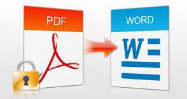 Chuyển đổi PDF to Word và ngược lại miễn phí? Tại sao không