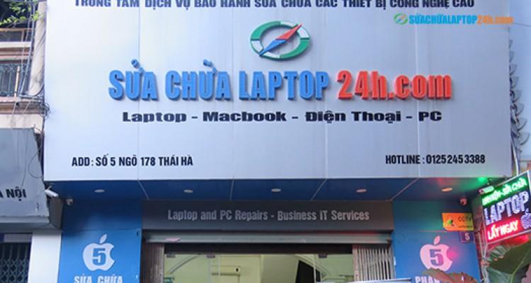 Địa chỉ sửa laptop uy tín tại Thái Hà, Hà Nội - Số 5, ngõ 178 Thái Hà