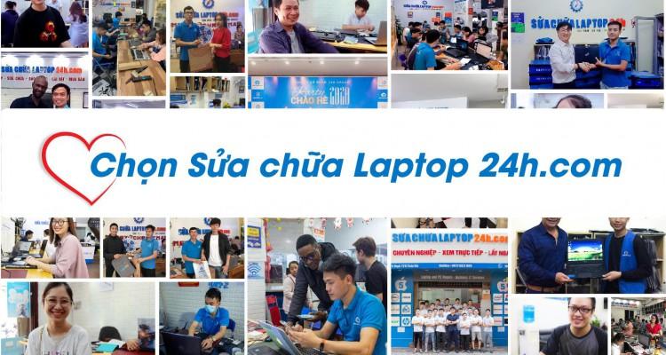 Giới thiệu về hệ thống Sửa chữa Laptop 24h.com