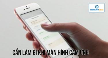 Cần làm gì khi màn hình cảm ứng iPhone không hoạt động