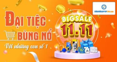 Big sale 11/11 - Khuyến mãi khủng từ Sửa chữa Laptop 24h