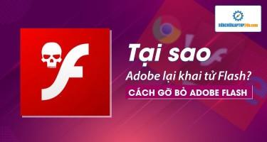 Tại sao Adobe lại khai tử Flash? Cách gỡ bỏ Adobe Flash như thế nào?