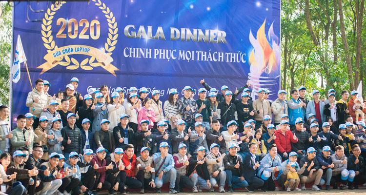 Sửa chữa Laptop 24h .com cháy hết mình tại Gala Dinner Chinh phục mọi thách thức