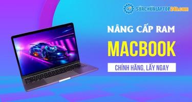 Nâng cấp RAM cho MacBook