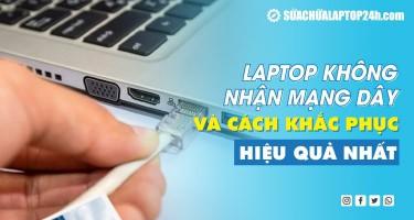 Laptop không nhận mạng dây và cách khắc phục hiệu quả nhất