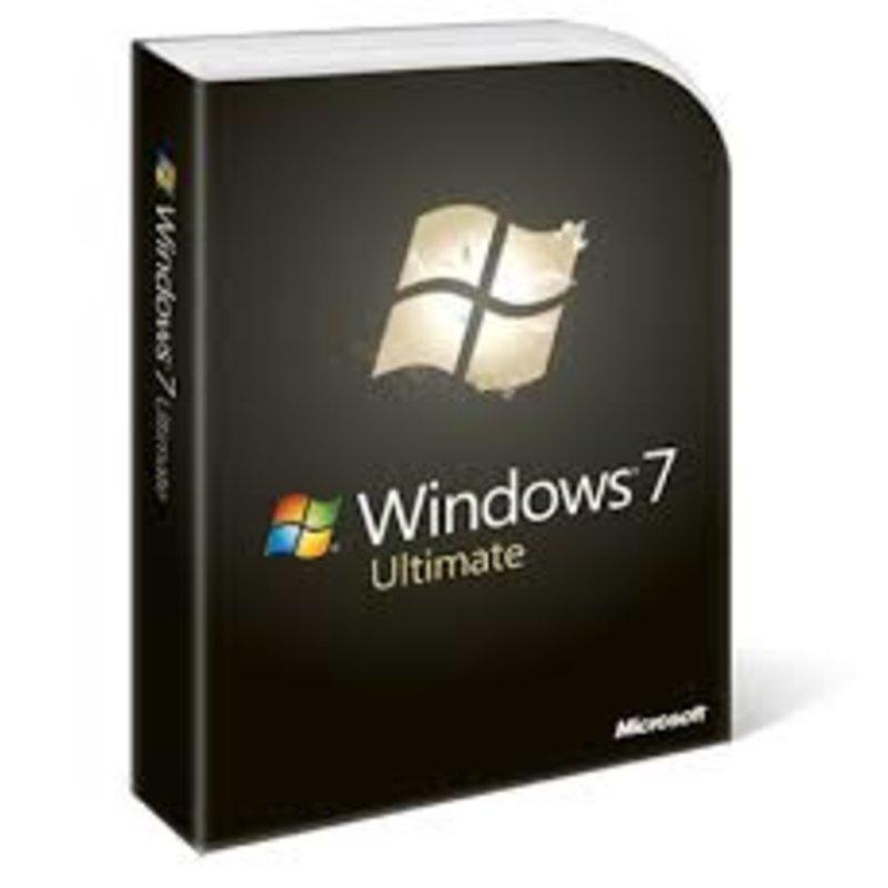 Windowns Ult 7 SP1 64-bit English SEA 3pk DSP 3 OEL DVD