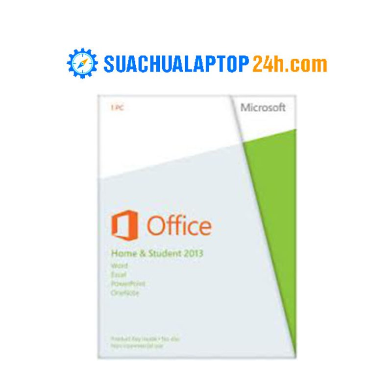 Office Home and Student 2013 English 32-bit and 64-bit APAC EM DVD