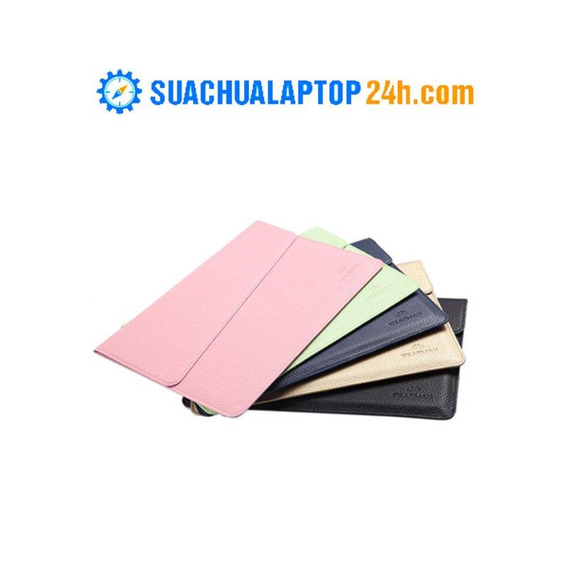 Túi Chống Sốc Lichi Bằng Da 13.3-inch