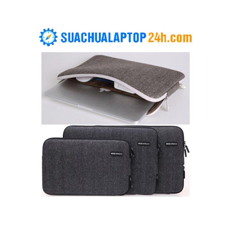 Túi Chống Sốc Sleeve British Tweed 15.4-inch (Nâu/Đen)