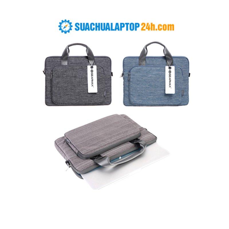 Túi xách tay GEARMAX Yashi 11.6in/12-inch (Ghi/xanh/đen)