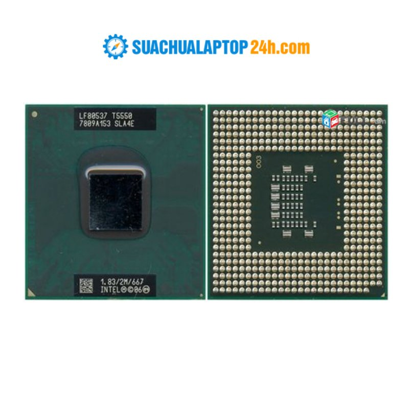 Chip Intel Core 2 Duo T5550 (2M Cache, 1.83 GHz, 667 MHz FSB)