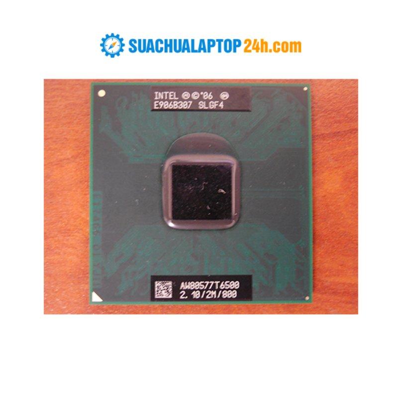 Chíp Intel Core 2 Duo T6500 (2M Cache, 2.10 GHz, 800 MHz FSB)