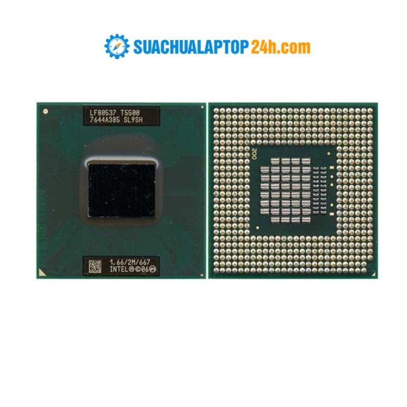 Chíp intel Core 2 Duo T5500 (2M Cache, 1.66 GHz, 667 MHz FSB)