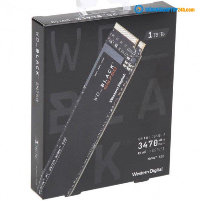 Ổ cứng SSD M2-PCIe 1TB  Western Digital WD Black SN750 NVMe 2280
