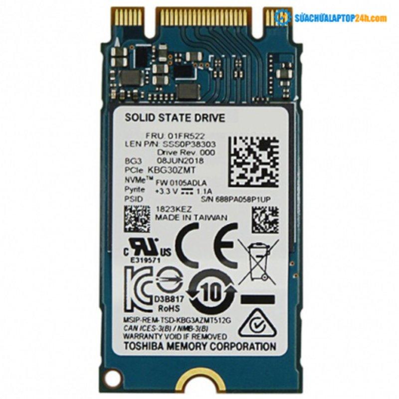Ổ cứng SSD M2-PCIe 128GB Toshiba BG3 2242 NVMe