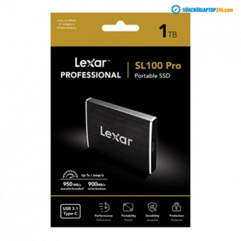 Ổ cứng di động SSD Portable 1TB Lexar Professional SL100 Pro