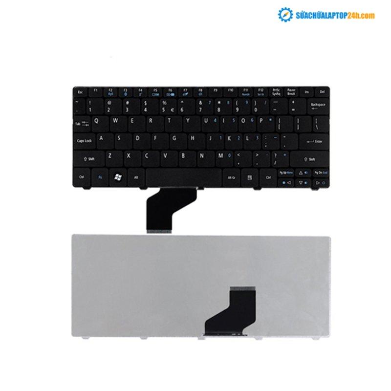 Bàn phím Keyboard Acer one D255 D257 D260 521 533 đen