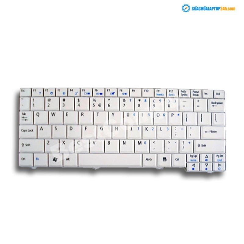 Bàn phím Keyboard (laptop) ACER ONE trắng