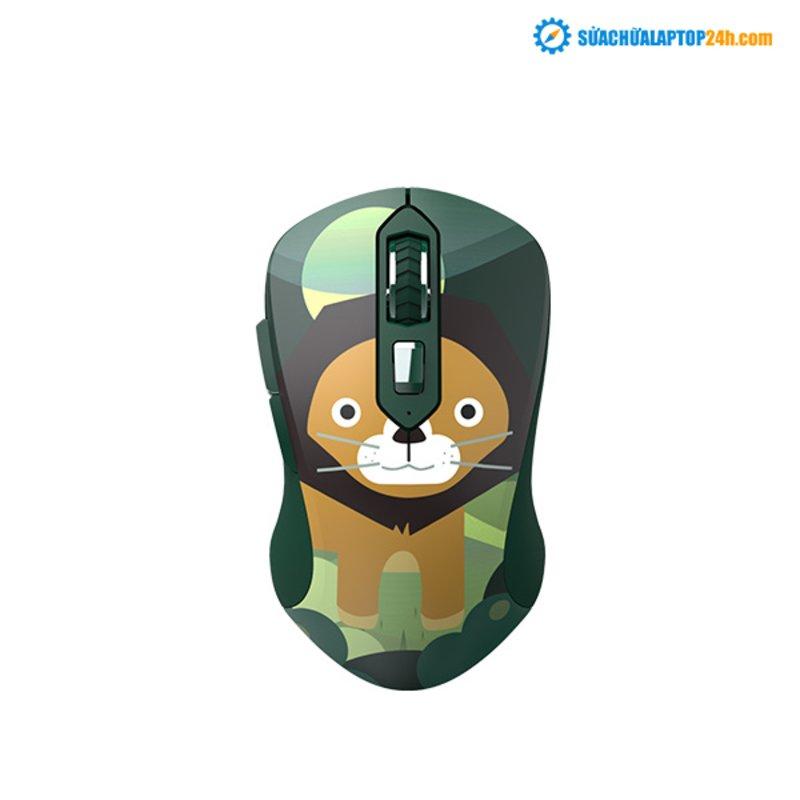 Chuột không dây DareU LM115G Multi-Color Lion