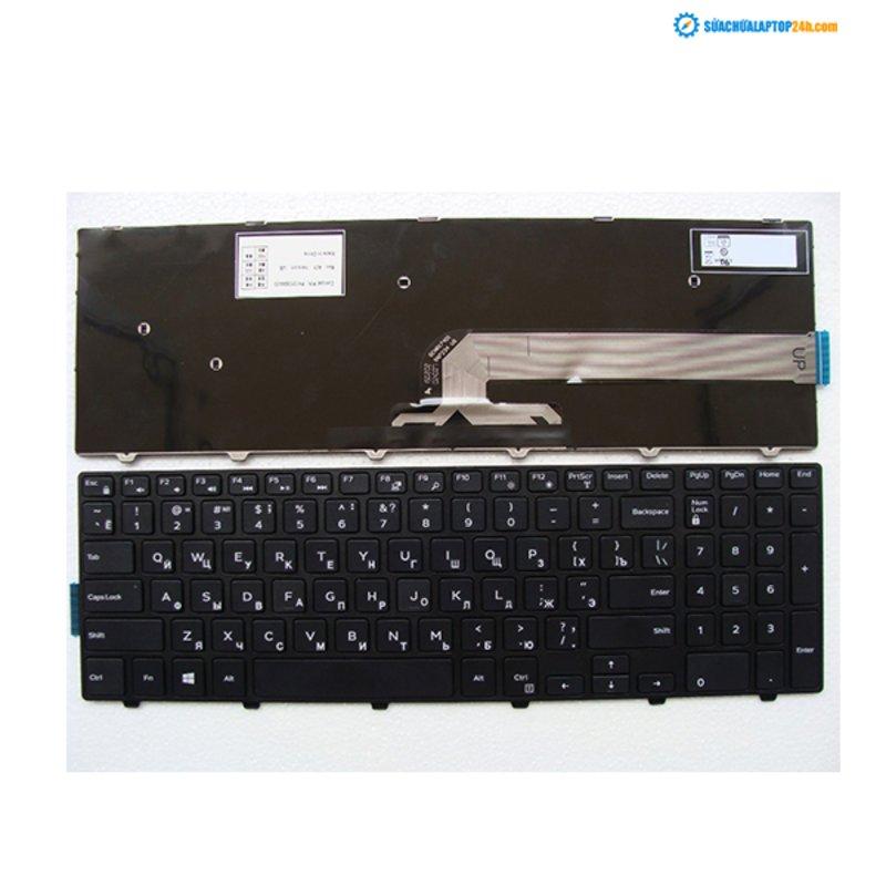 Bàn phím Keyboard laptop Dell inspiron 3542