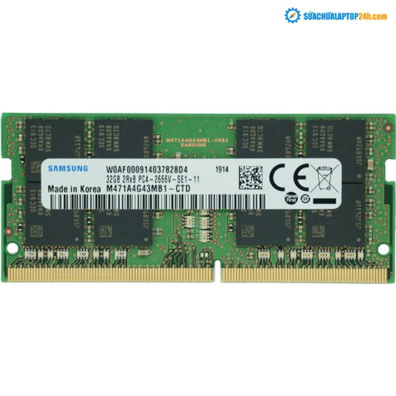 Ram Laptop Samsung DDR4 32GB Bus 2666MHz