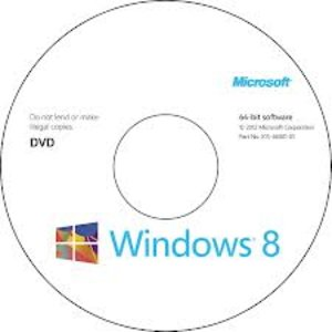 windowns 8 English 64-bit lntl 1pk DSP OEL DVD