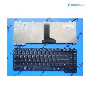Bàn phím Keyboard Toshiba L640 C640 đen