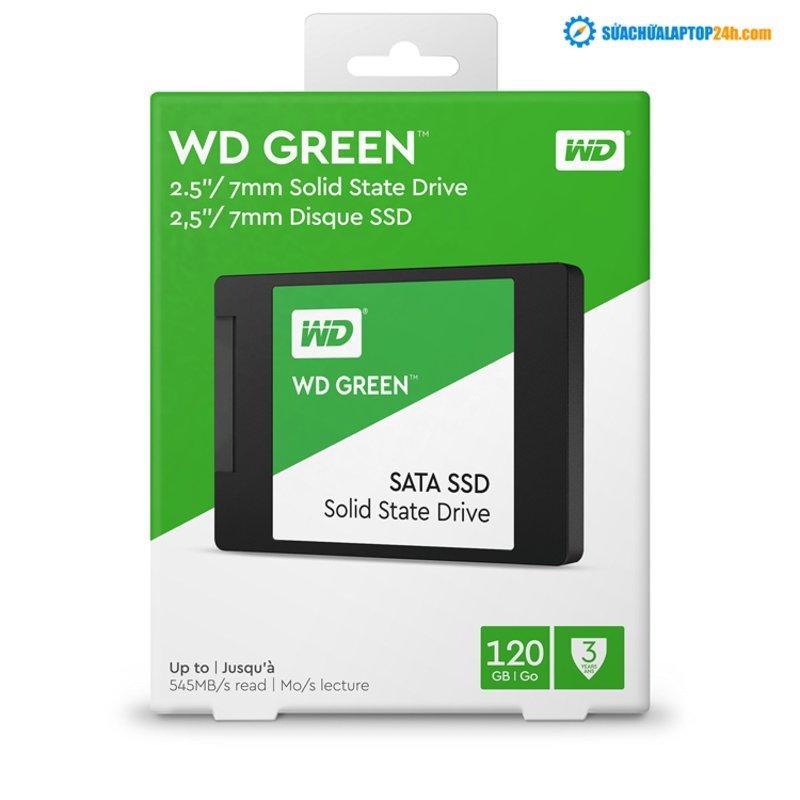 Ổ cứng SSD 120GB Western Digital WD Green Chính hãng