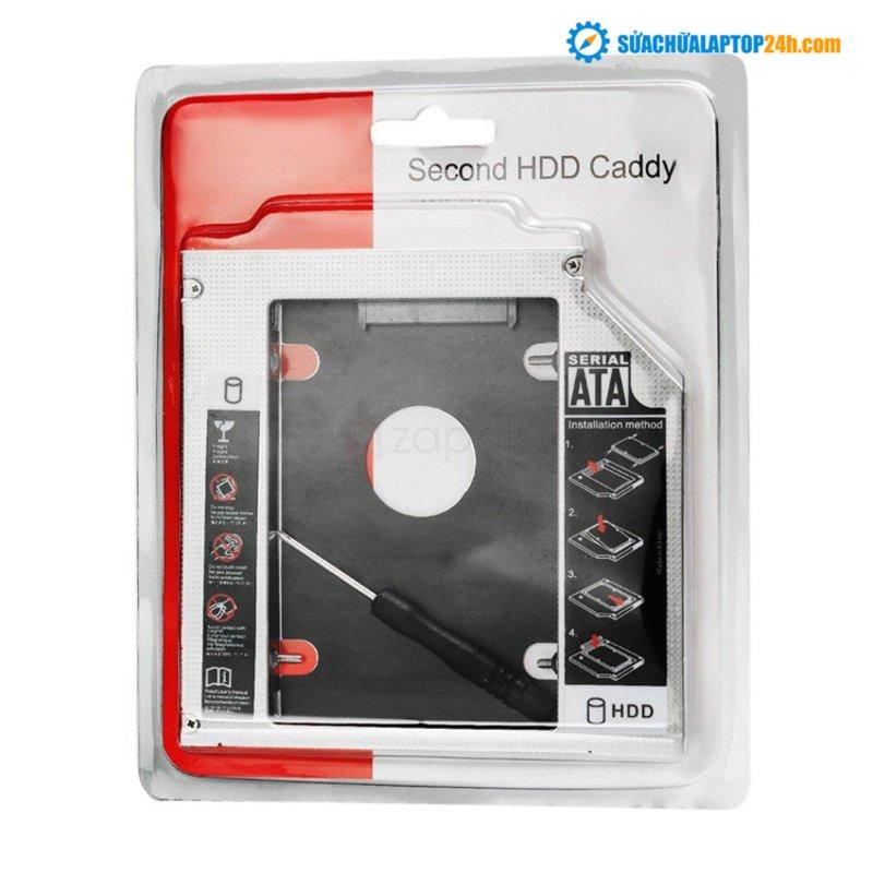 Khay Ổ Cứng Caddy Bay 9.5mm mỏng (Gắn Ổ Cứng Thay Ổ Quang Laptop)