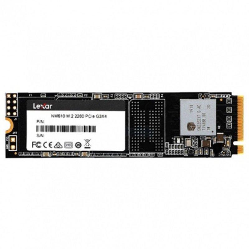Ổ cứng SSD M2-PCIe 1TB Lexar NM610 NVMe 2280