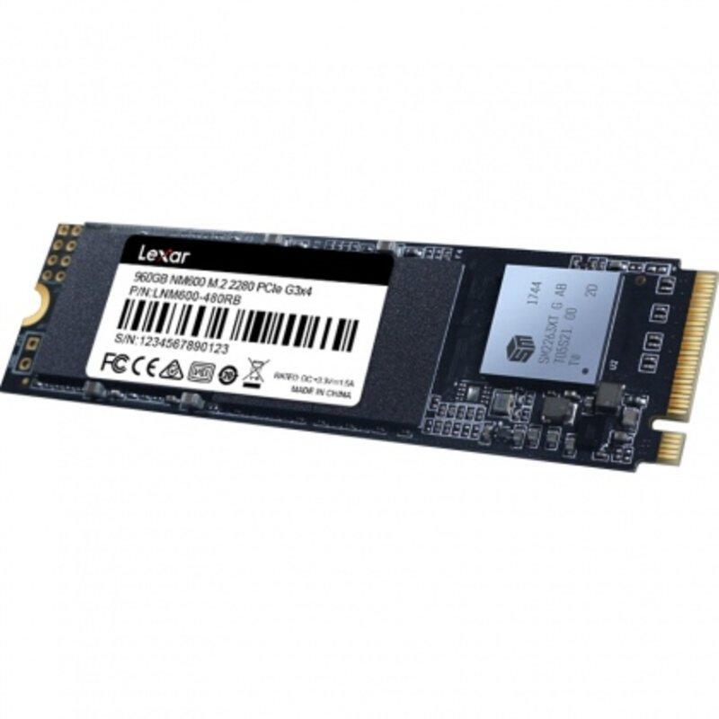 Ổ cứng SSD M2-PCIe 960GB Lexar NM600 NVMe 2280