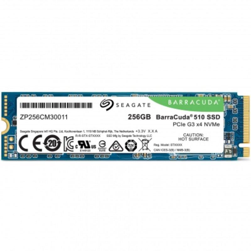 Ổ cứng SSD M2-PCIe 256GB Seagate Barracuda 510 NVMe 2280