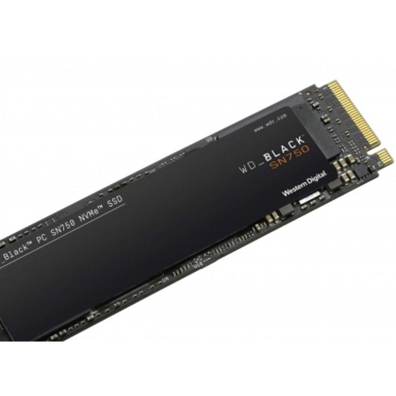 Ổ cứng SSD M2-PCIe 250GB Western Digital WD Black SN750 NVMe 2280 (Bản mới 2019)