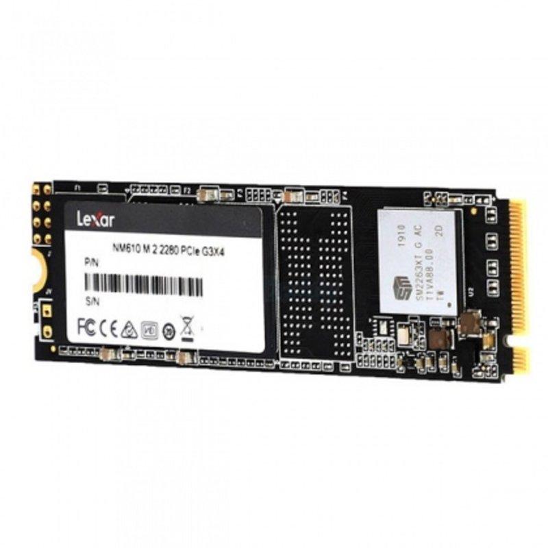 Ổ cứng SSD M2-PCIe 500GB Lexar NM610 NVMe 2280