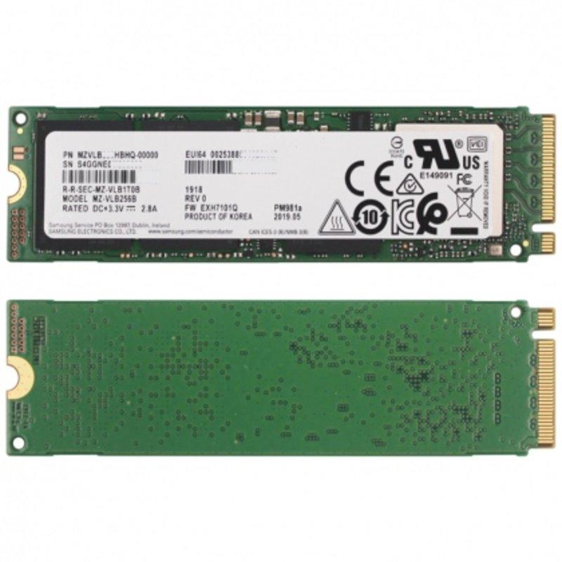 Ổ cứng SSD M2-PCIe 256GB Samsung PM981a NVMe 2280 (OEM Samsung 970 EVO Plus)