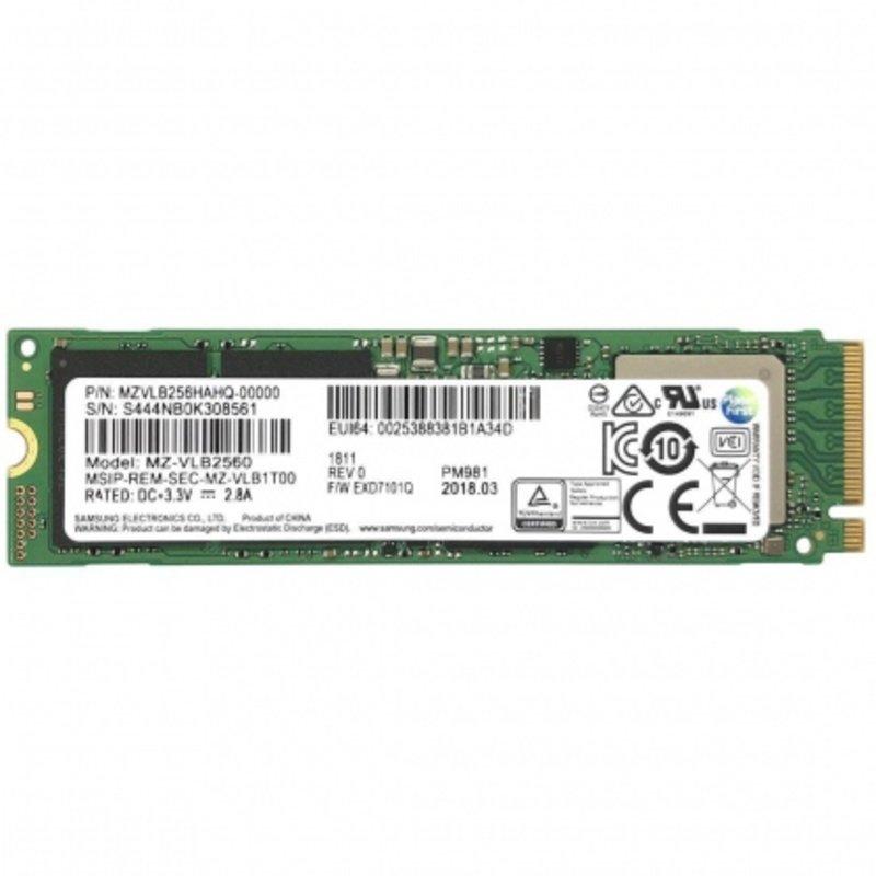 Ổ cứng SSD M2-PCIe 256GB Samsung PM981 NVMe 2280 (OEM Samsung 970 EVO)