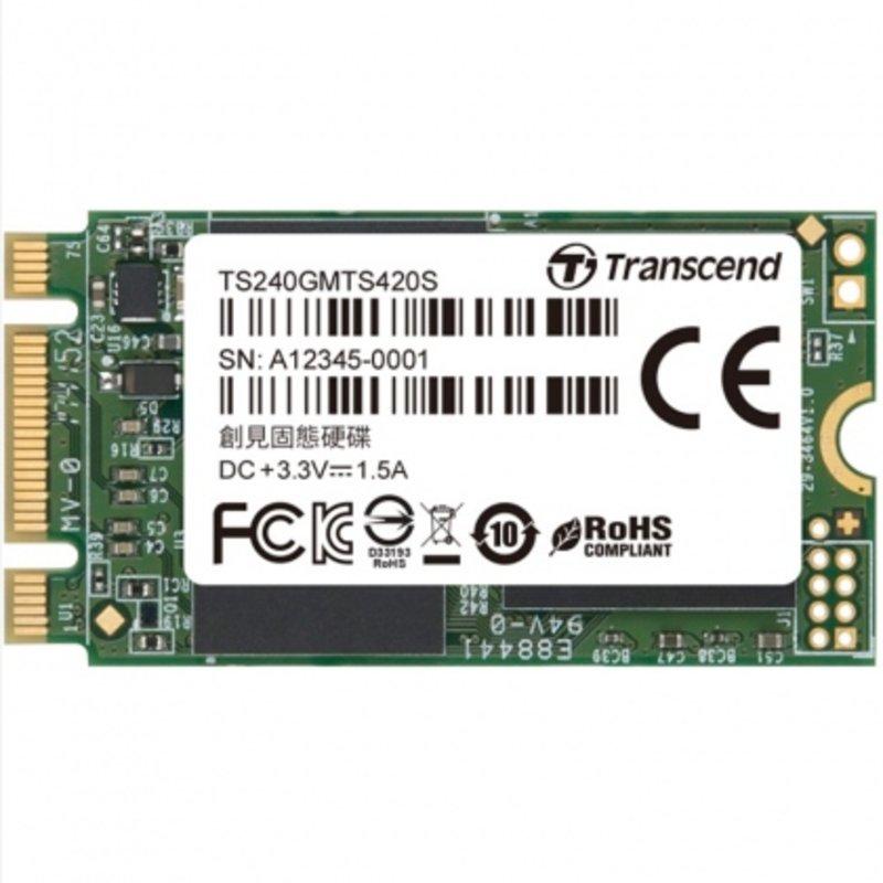 Ổ cứng SSD M2-SATA 240GB Transcend MTS420S 2242