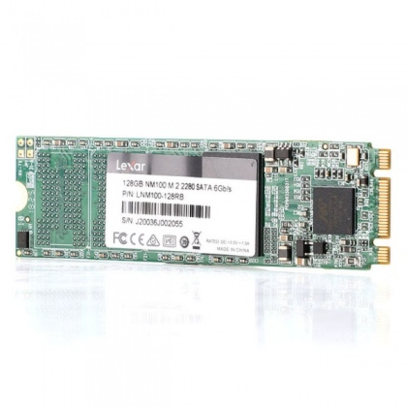 Ổ cứng SSD M2-SATA 128GB Lexar NM100 2280